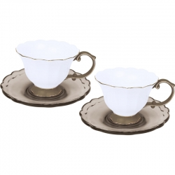 SET 2 TAZZINE TEA TORTORA