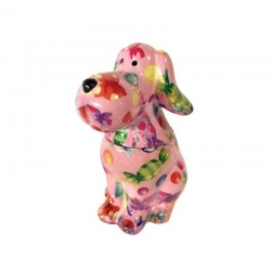 COOKIE JAR - SWEET BIG TOBY- XL ROSA