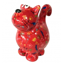 COOKIE JAR - SWEET DOROTHY - ROSSO CON FIORI