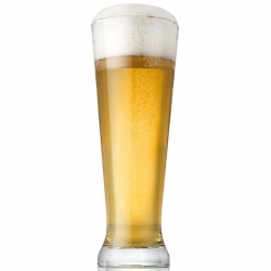 BEER HAPPY SET 2 BICCHIERE BIRRA CHIARA CL.50