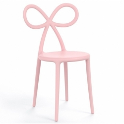 Sedia rosa ribbon chair Qeeboo