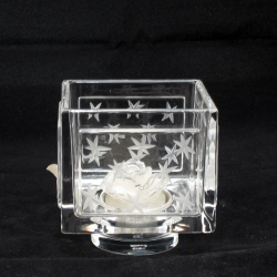 Atmosphere tea light cubico molato