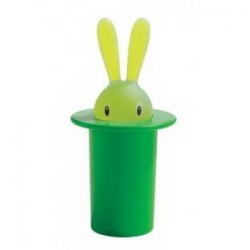 Portastuzzicadenti Verde Magic Bunny Alessi