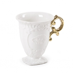 TAZZA IN PORCELLANA I-WARES GOLD