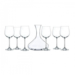 SET CARAFFA DECANTER + SEI CALICI VINO