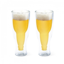 Set 2 bicchieri birra gravity 400 ml balvi