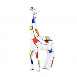 Giraffe tilly - andy abstractpomme pidou