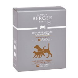 Cofanetto 2 ricariche for animals bad smells lampe berger