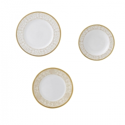 Set Patti 36 pz celestial gold Wedgwood