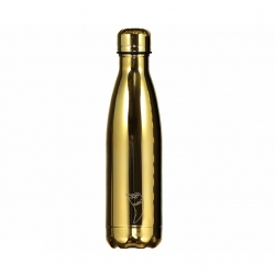 Chilly's Metal Chrome-Bottiglia-Oro 500Ml
