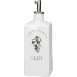 Conserva Oliera 250 Ml Deco Gb La Porcellana Bianca