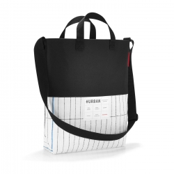 Urban Shoulderbag London Black & White Reisenthel