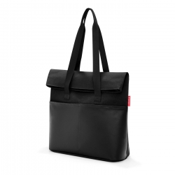 Foldbag Canvas Black Reisenthel
