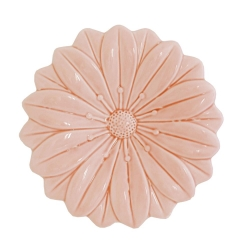EVAPORIAMO Fiore Rosa In Porcellana Cm 17,5X17,5 In Gift Box