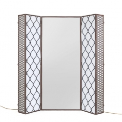 Specchio lighting trunk seletti