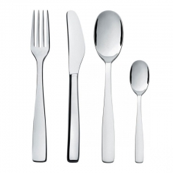 Knifeforkspoon set 75 pz. alessi