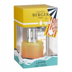 Cofanetto blissful con profumo coco monoi lampe berger