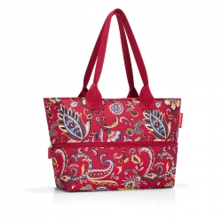 Shopper e1 paisley ruby reisenthel