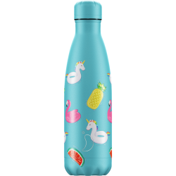 Bottiglia 500 ml pool party day unicorn chilly's