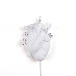 Aplique in porcellana heart lamp seletti