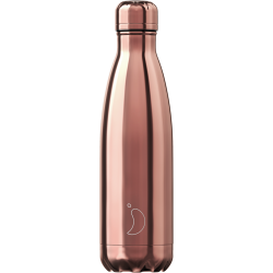 Bottiglia 500 ml chrome rose gold chilly's