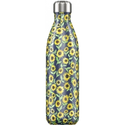 Bottiglia 750 ml - Floral - Sunflower - NEW Chilly's