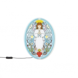 Decorazione led angelo gabriele gospel signs seletti