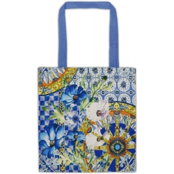 Cotton bag - milano blu baci milano