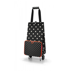 Foldabletrolley mixed dots reisenthel