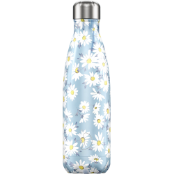 Bottiglia 500 ml - floral - daisy chilly's