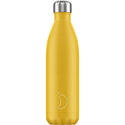 Bottiglia 750 ml - matte - burnt yellow chilly's