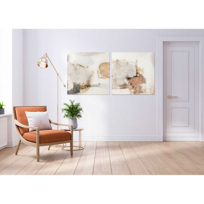 Quadro sand abstract 100cm Agave