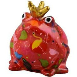 Moneybox Rossa King Frog Freddy Small