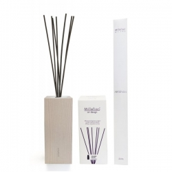 Diffusore wood air design quadro bianco millefiori