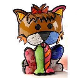 Figurina mini terrier romero britto
