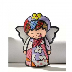 Figurina Mini Angelo Per Lei Romero Britto