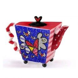 Teiera Flying Heart Romero Britto