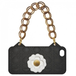 I-PHONE BAG - CAMELIA NERO