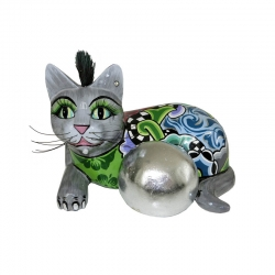 Gatto medio silverball cat toms drag