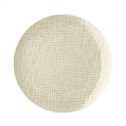 Piatto piano 27 cm cream mesh rosenthal