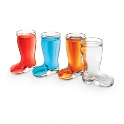 Touch boot shot glasses 4pk