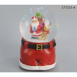 WATERBALL SANTA PANTS MUSICBOX ASSORTITI
