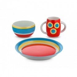 Ni pappaset con-centrici set 3 pz alessi